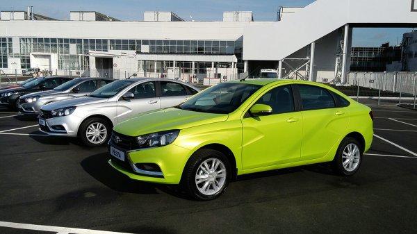 Опубликован ТОП-10 самых популярных автомобильных брендов в России