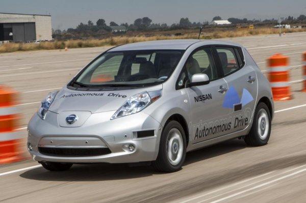 Nissan пригласил британцев опробовать модели с «автопилотом»