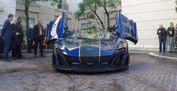 McLaren 675LT Spider Carbon Series появился в США