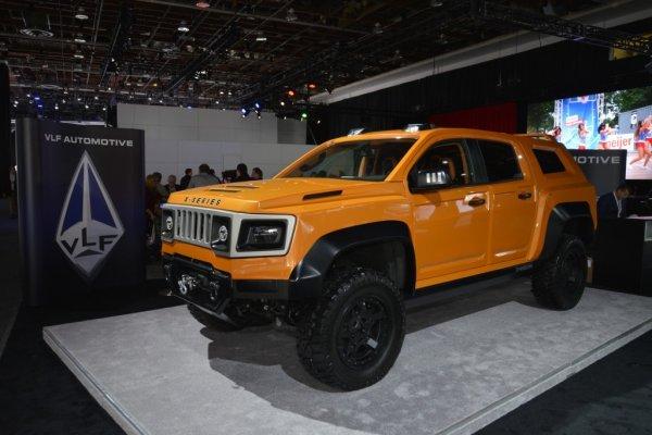 Эксперты назвали самый уродливый автомобиль выставки в Детройте