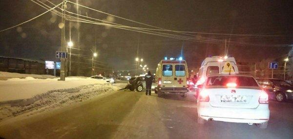 Беременная девушка пострадала в «пьяном» ДТП в Ижевске