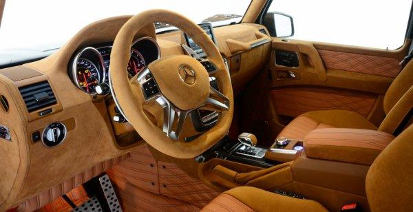 Brabus презентовал 800-сильный Mercedes-AMG G65