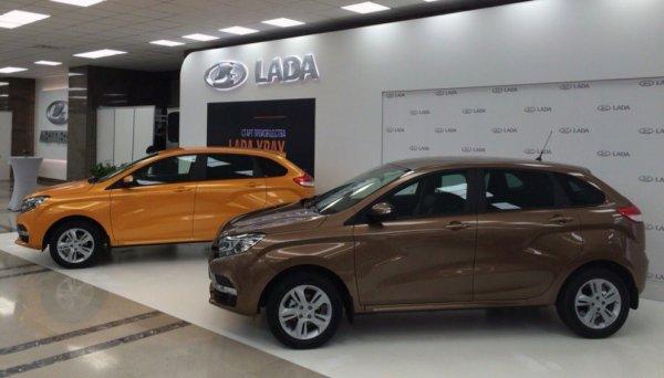 Продажи автомобилей LADA Vesta и XRAY установили новый рекорд в декабре