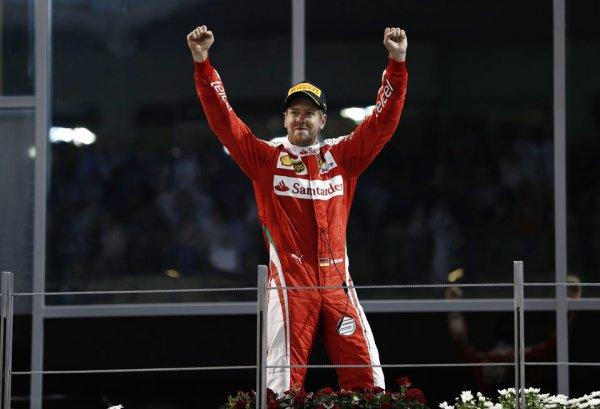 Феттель: Ferrari планирует только побеждать