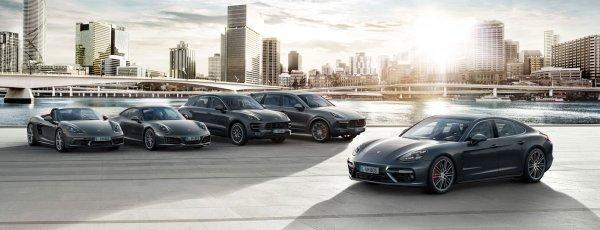 Porsche показала снижение продаж в России на 6%