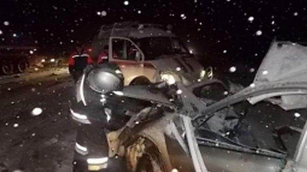 В ДТП под Тулой погибли мужчина и младенец