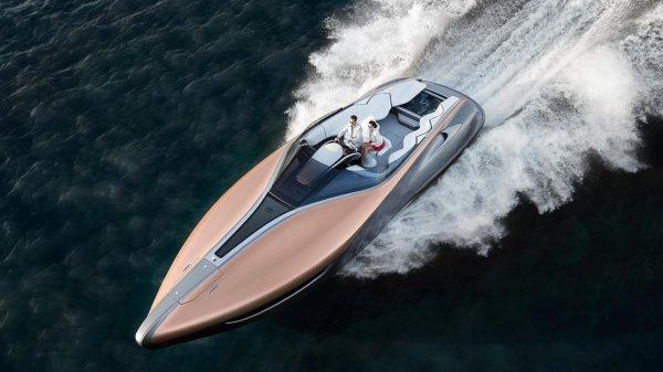 Lexus создал свою первую скоростную яхту