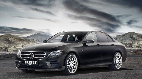 Mercedes E-Class получит новый обвес от моделей Brabus