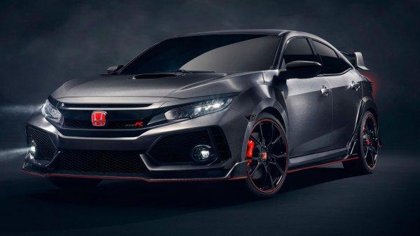 Новая Honda Civic Type R поступит в продажу уже этим летом