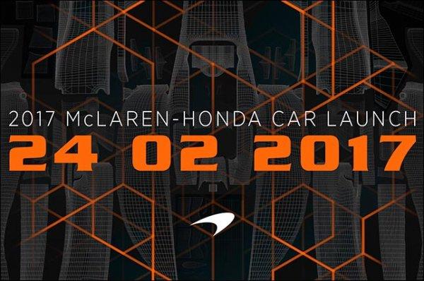 McLaren покажет новый болид 24 февраля