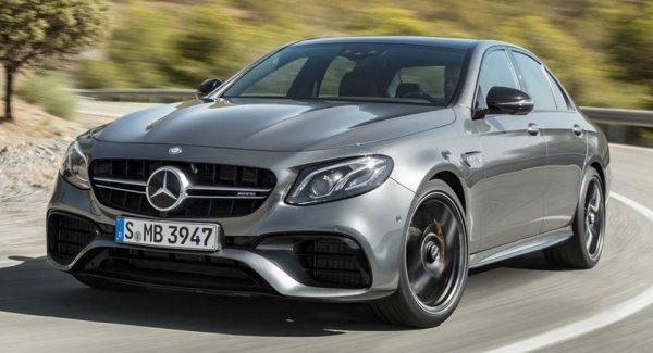 Новый Mercedes-AMG E63 появится на рынке Германии