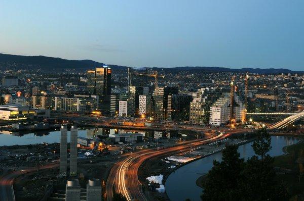В столице Норвегии запретили въезд дизельных автомобилей в центр города