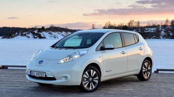Nissan обеспечил немецкий город Эссен 15 электрокарами