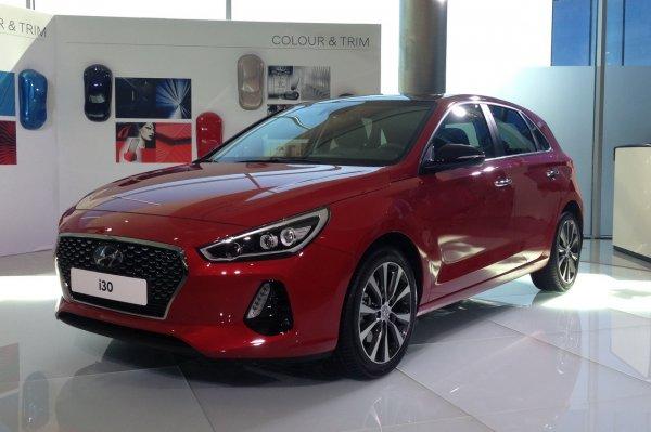 Названы цены на новый Hyundai i30 для европейского рынка
