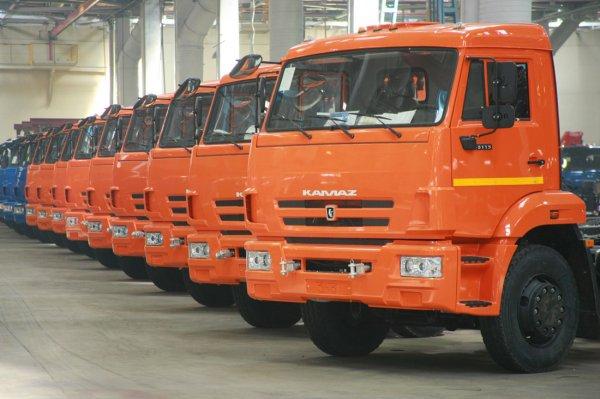 Российский рынок грузовых автомобилей вырос на 4% в 2016 году