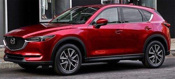 Японцы представили новый кроссовер: Обзор Mazda CX-5 2017