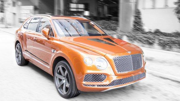 Тюнеры из DMC добавили мощности кроссоверу Bentley Bentayga