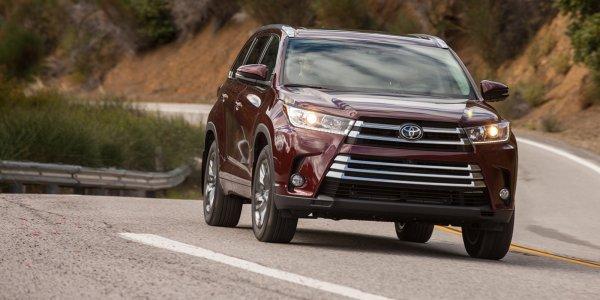Представлен новый кроссовер: Обзор Toyota Kluger 2017