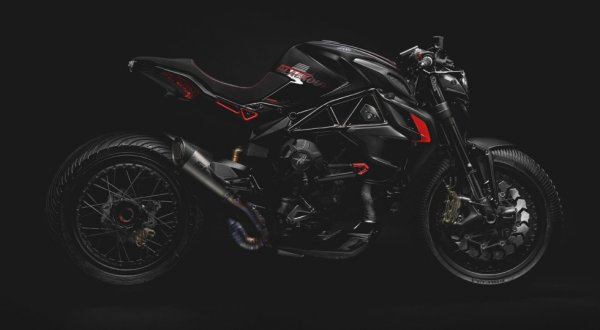 Компания MV Agusta представила мотоцикл Dragster 800 Blackout