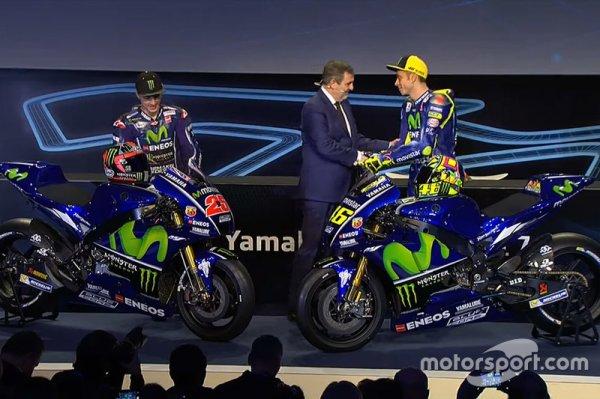 Yamaha презентовала YZR-M1 и обновленную ливрею