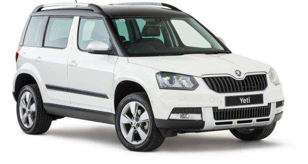 Чехи обновили свой автомобиль: Обзор Skoda Yeti 4X4 2017
