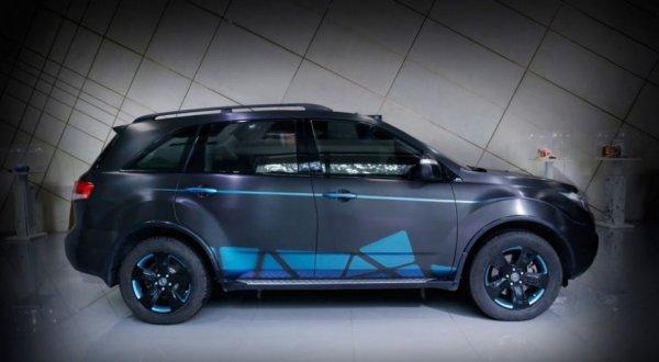 Тюнеры из Vilner «добавили бабочек» кроссоверу Acura MDX