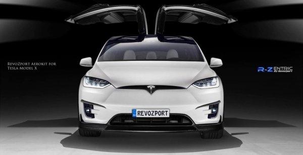 Китайские тюнеры представили кроссовер Tesla Model X R-Zentric