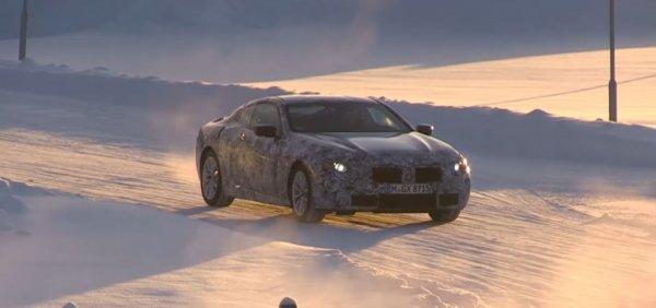 Обновленный BMW 8-Series «засветился» на шпионском видео