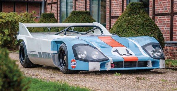 Porsche 917 может уйти с молотка за € 5 500 000