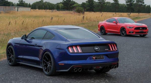Австралийские тюнеры представили 490-сильный Ford Mustang