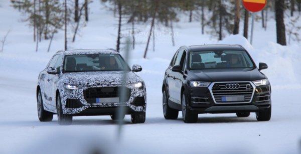 Прототип внедорожника Audi Q8 проходит тесты в Финляндии
