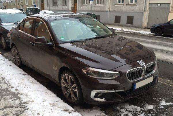 Китайский BMW 1-Series замечен на тестах в Германии