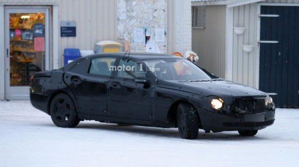 В сети появились шпионские фото нового седана Spy от Volkswagen