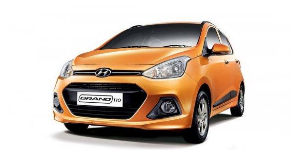 В сети появились фото обновленного Hyundai Grand i10