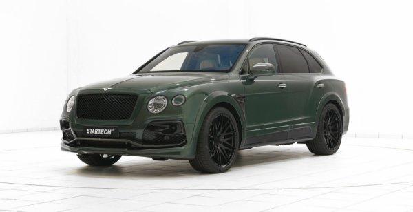 Специалисты из Startech представили тюнинговый Bentley Bentayga