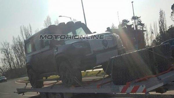 Mercedes-Benz выпустит автомобиль GLB-Class