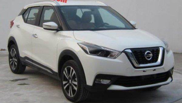 Появились снимки нового кроссовера Nissan Kicks для Китая