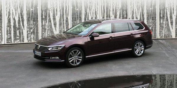 Немцы представили новинку: Обзор Volkswagen Passat 206TSI R-line 2017