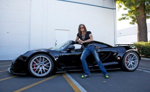 Стивен Тайлер продал свой Hennessey Venom GT за 800 000 долларов
