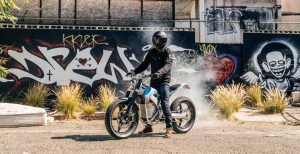 Электромотоцикл Dirt Tracker представят на мото-шоу в Портленде