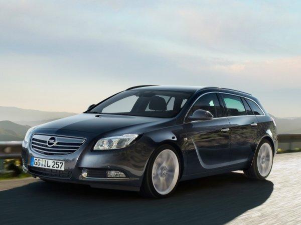 Через месяц Opel презентует универсал Insignia