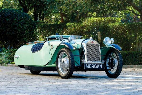 Трёхколесный Morgan F-Super 1947 года уйдёт с молотка в США