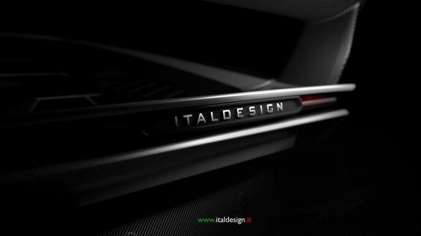 Italdesign опубликовали рендер нового автомобиля