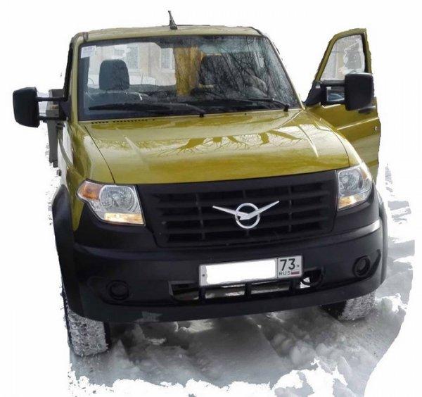 В сети появились фото серийной версии УАЗ «Карго»