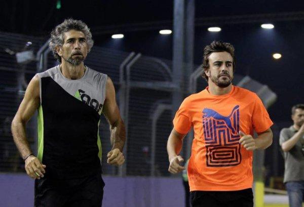 Тренер Алонсо: Фернандо находится в наилучшей физической форме