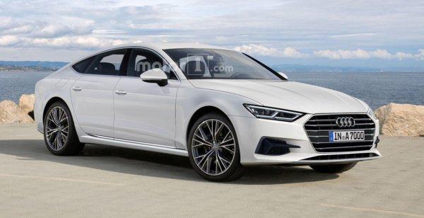 В сети появилось рендерное изображение Audi A7 Sportback