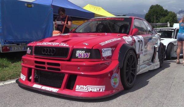 Легендарный Audi S2 R Quattro Hillclimber вернулся на гоночный трек