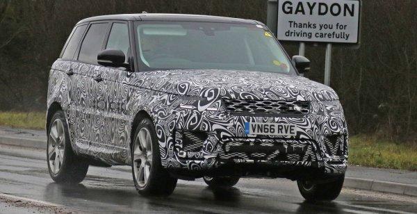 Land Rover вывел на испытания гибридный внедорожник Range Rover Sport