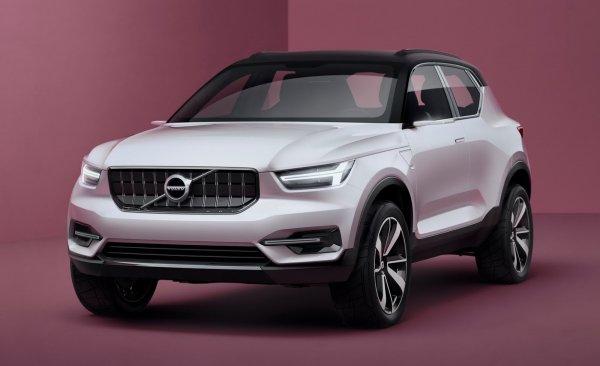 Новый кроссовер Volvo XC40 выйдет осенью