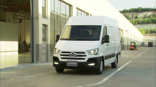 Российские продажи нового фургона Hyundai H350 стартуют в октябре